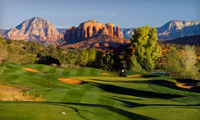 Sedona Golf Resort - Village of Oak Creek (Big Park): $99 for Golf Outing for Up to Two People Plus a Red Rock Discount Card at Sedona Golf Resort (Up to $207 Value)