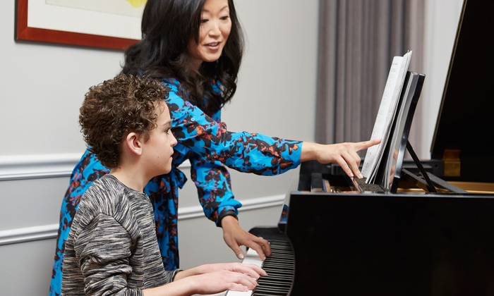 Face the Future - Face the Future: Four Private Piano or Violin Lessons at Face the Future (Up to 51% Off)