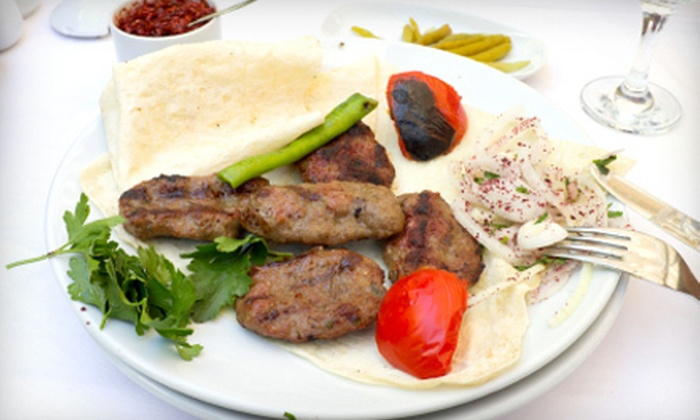 Rudy's Mediterranean Grill - Columbia: $15 for $30 or $25 for $60 Worth of Mediterranean and American Fare at Rudy's Mediterranean Grill in Columbia
