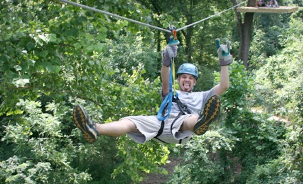 2-Hour Night Lantern Tour (a $90 value) - Carolina Ziplines Canopy Tour in Westfield