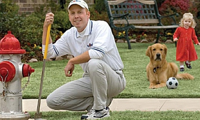 Pet Butler - Alpharetta: $35 for 75 Minutes of Pet-Waste Cleanup from Pet Butler ($76 Value)