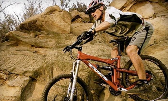 L.A. Mountain Bike Tours - Topanga: $85 for a Guided Mountain-Bike Tour for Two from L.A. Mountain Bike Tours in Topanga ($170 Value)