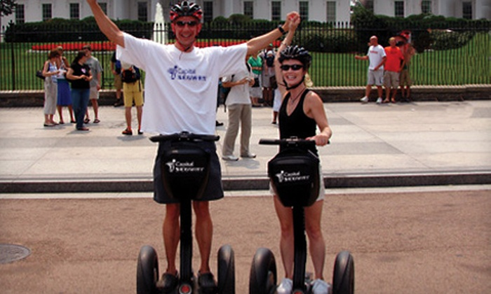 Capital Segway - Washington: $39 for a Two-Hour Segway Tour from Capital Segway (Up to $80 Value)