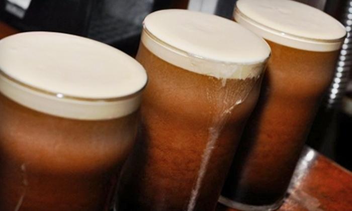 Lunasa - East Village: $10 for $20 Worth of Irish Pub Fare and Drinks during UEFA Champions League Week at Lunasa