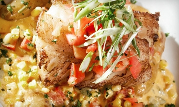 Darryl's Corner Bar & Kitchen - Boston's South End : Southern Meal for Two or Four with Live Jazz on Weekday or Weekend at Darryl's Corner Bar & Kitchen (Up to 52% Off)