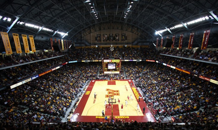 University of Minnesota Golden Gophers - University: $12 for One Ticket to University of Minnesota Men's Basketball Game at Williams Arena ($25 Value). Three Games Available.