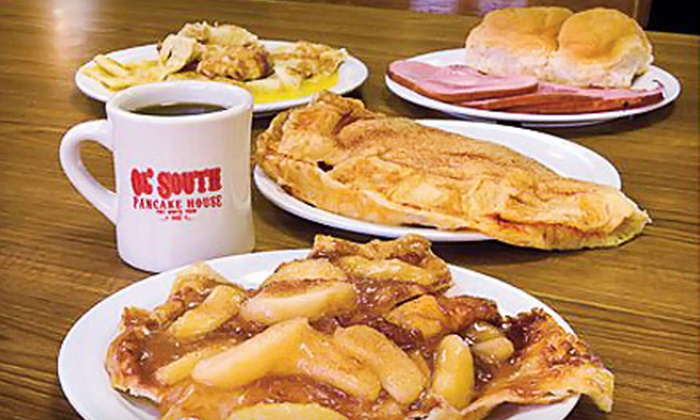 Ol' South Pancake House - Mid - Park: Pancakes and Southern Fare for Two or Four at Ol' South Pancake House (Up to 55% Off)