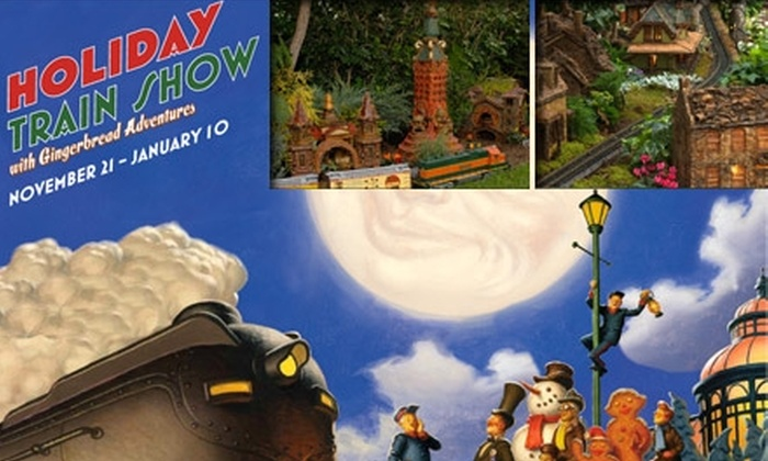 The New York Botanical Garden - Bronx Park: $10 for One Adult Ticket to The 18th Annual New York Botanical Garden Holiday Train Show ($20 Value)
