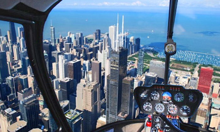 Rotorzen Helicopters, Inc. - Clearing: Half-Hour Helicopter Tour of Chicago for Two or Three from Rotorzen Helicopters, Inc.