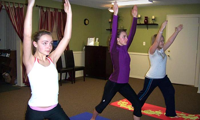 Yoga Reflections - Kalamazoo: $25 for Five Yoga or Pilates Classes at Yoga Reflections in Mattawan ($55 Value)