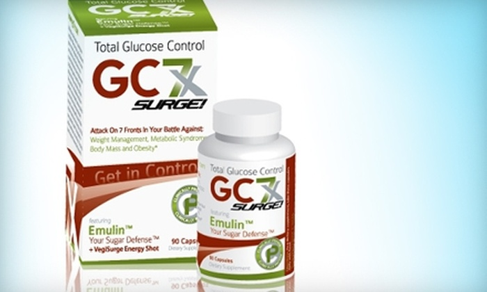 GC7X: $25 for a 30-Day Supply of Glucose-Control Supplements from GC7X ($49.95 Value)