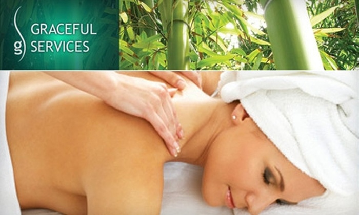 Graceful Spa - Multiple Locations: $49 for One of Three 60-Minute Massages at Graceful Spa