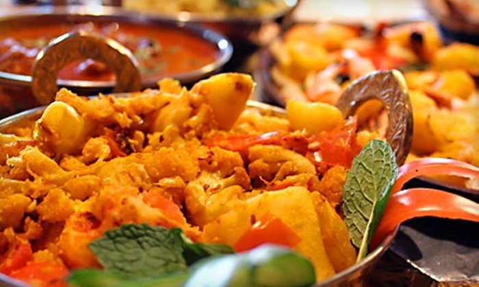 Saffron Indian Cuisine & Bar - Newbury Park: $20 for $40 Worth of Indian Fare and Drinks at Saffron Indian Cuisine & Bar