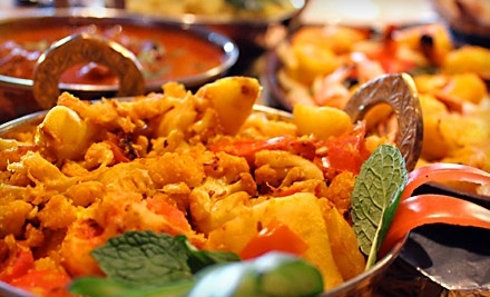 $40 Groupon to Saffron Indian Cuisine & Bar - Saffron Indian Cuisine & Bar in Newbury Park