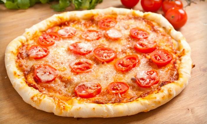 Saccomanno's Pizza Pasta & Deli - Lauderdale: Pizza, Pasta, and Sandwiches at Saccomanno's Pizza Pasta & Deli (Half Off). Two Options Available.