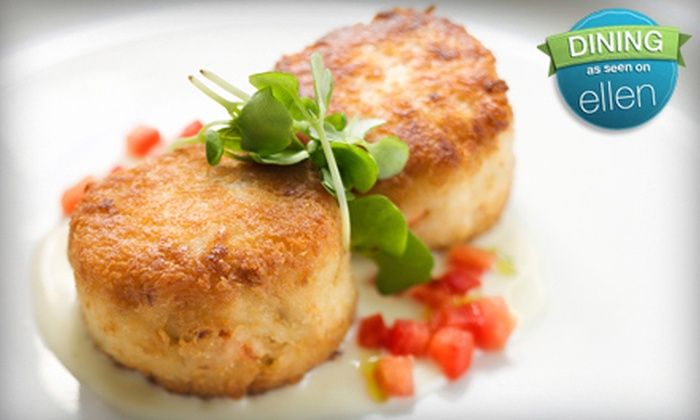 Harbor Inn Seafood - Anderson: $18 for a Seafood Meal for Two with Appetizer, Entrees, and Beverages at Harbor Inn Seafood (Up to $37.05 Value)