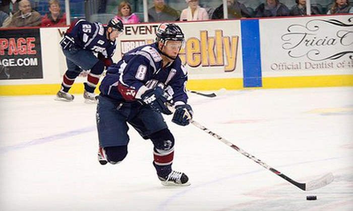 Tulsa Oilers - Multiple Locations: 10 Flex Tickets to Tulsa Oilers Hockey (Up to a $350 Value). Three Options Available.