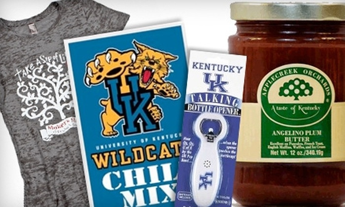 Only in Kentucky - Downtown Lexington: $12 for $25 Worth of Kentucky Souvenirs and Gifts at Only in Kentucky