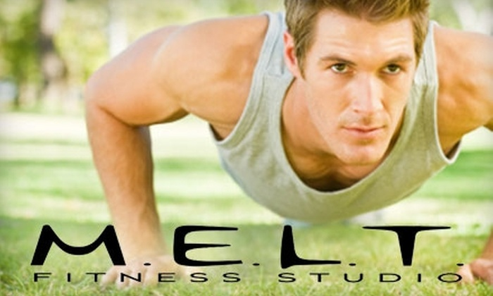 M.E.L.T. Fitness Studio - South Windsor: $29 for One Month of Unlimited Boot Camp at M.E.L.T. Fitness Studio