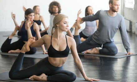1 or Months of Unlimited Yoga Classes, or 5 or 10 Classes at Black Cat Yoga (Up to 65% Off)