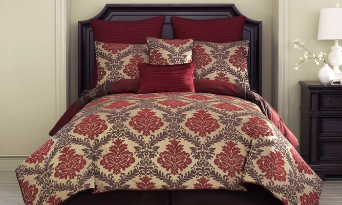 8-Piece Reversible Comforter Sets: 8-Piece Reversible Comforter Set ($260 List Price). Multiple Styles Available. Free Shipping and Returns.