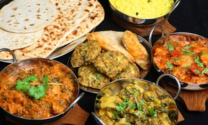 Santoor Indian Grill: Four-Course Indian Meal for Two or Four at Santoor Indian Grill (Up to 51% Off)