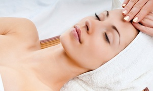 Details Salon and Spa: One or Two Calming Facials, with Optional Glycolic Peel at Details Salon and Spa (Up to 56% Off)
