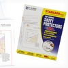 $12.99 for 100 Clear Sheet Protectors