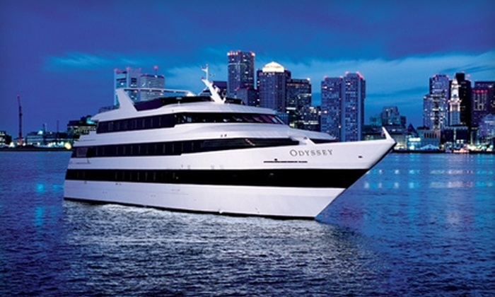 Odyssey Cruises - Rowe's Wharf: Three-Hour Dinner Cruise Wednesday–Friday or Saturday from Odyssey Cruises (40% Off)
