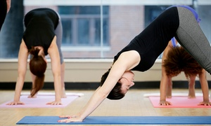 Infinity Wellness Center: 5 or 10 Yoga Classes at Infinity Wellness Center (Up to 57% Off)