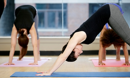 10 or 20 Yoga Classes, or One-Year Membership at YogaSpa (Up to 76% Off)