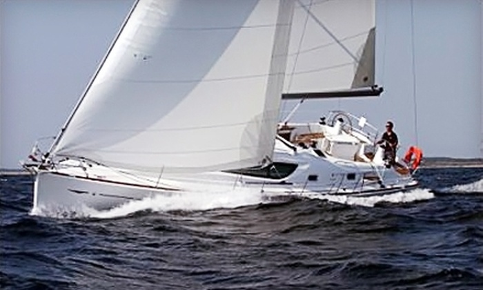 Annapolis Bay Charters - Annapolis: $750 for a Four-Hour Sailboat Charter for Two With Lunch from Annapolis Bay Charters ($1,497 Value)