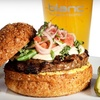 $7 for Burgers and Drinks at Blanc Burgers + Bottles