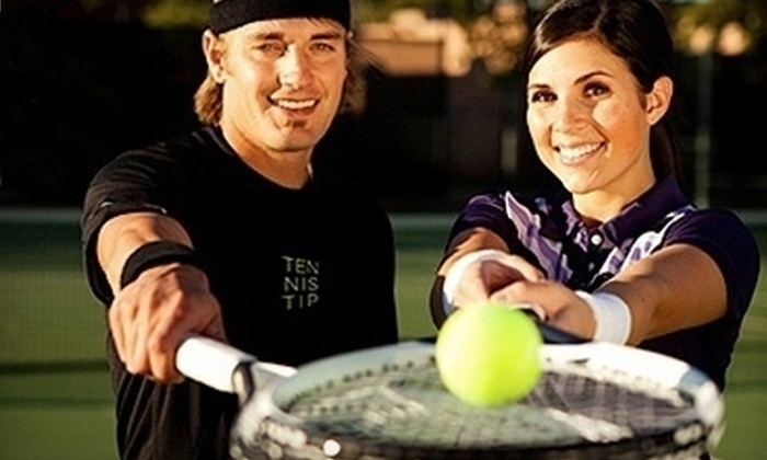 TennisTip - Brickell: $45 for Three Group Tennis Lessons from TennisTip ($95 Value)