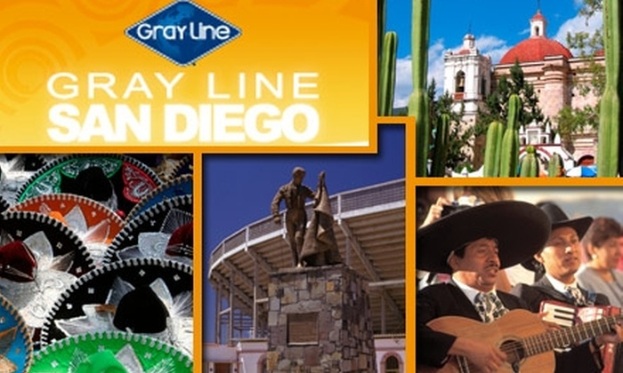 Gray Line San Diego - Core-Columbia: $24 for Rosarito Beach Tour with Gray Line San Diego ($48 Value). Buy Here for Trip to Rosarito Beach. See Below for the Baja Mexico Coastal Tour to Ensenada.
