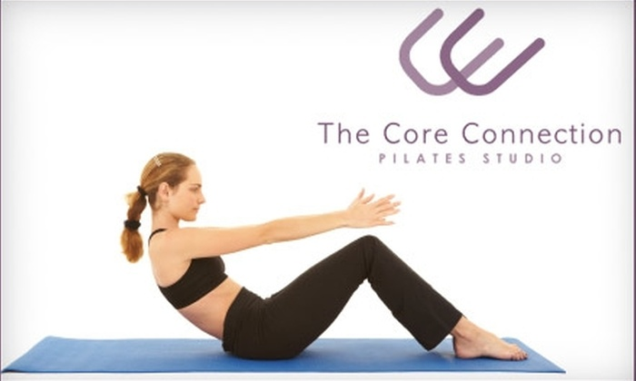 The Core Connection - Transitional: $25 for Five Group Matwork Pilates Classes ($75 Value) or Three Group Reformer Pilates Classes ($94.50 Value) at The Core Connection