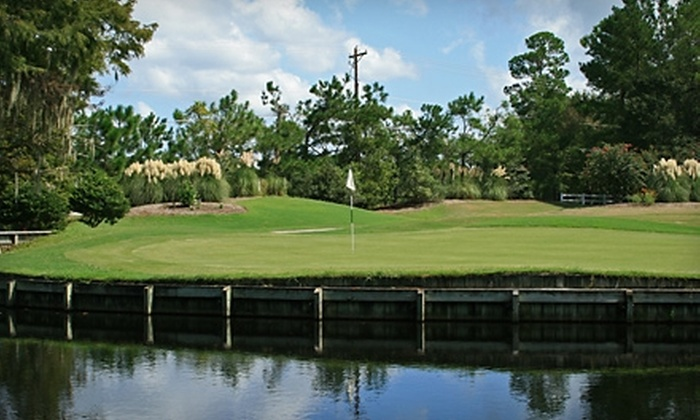 Legend Oaks Golf Club - Summerville: $55 for a Round of Golf for Two with a Cart at Legend Oaks Golf Club in Summerville (Up to $118 Value)