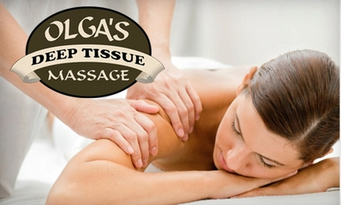 Olga's Deep Tissue Massage - West Valley: $30 for a One-Hour Deep-Tissue Massage at Olga's Deep Tissue Massage ($65 Value)