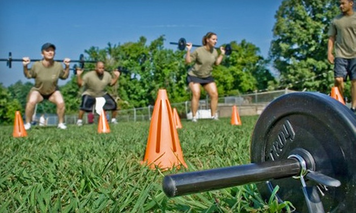Hard Knox Boot Camp - Knoxville: $50 for Four One-Week Boot-Camp Sessions at Hard Knox Boot Camp ($99.95 Value)