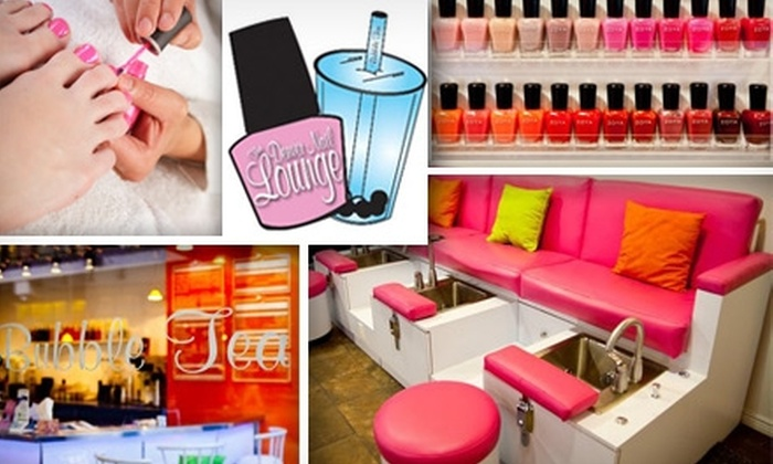 Denver Nail Lounge - Denver: $49 for Two Mani-Pedis at The Denver Nail Lounge, Plus Two Bubble Teas if You Redeem Monday–Thursday (Up to $116 Value)