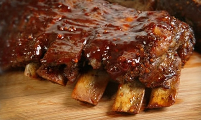The Comfort Zone - Downtown Aurora: $10 for $20 Worth of Southern-Style Barbecue and Drinks at The Comfort Zone in Aurora