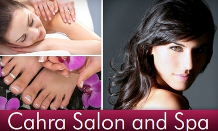 Cahra Salon and Spa - Gaithersburg: $45 for $100 Worth of Salon and Spa Services at Cahra Salon and Spa in Gaithersburg
