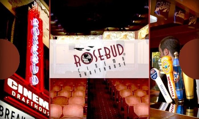 Rosebud Cinema - Milwaukee: $10 for a Movie Ticket, Snacks, and Drinks at Rosebud Cinema
