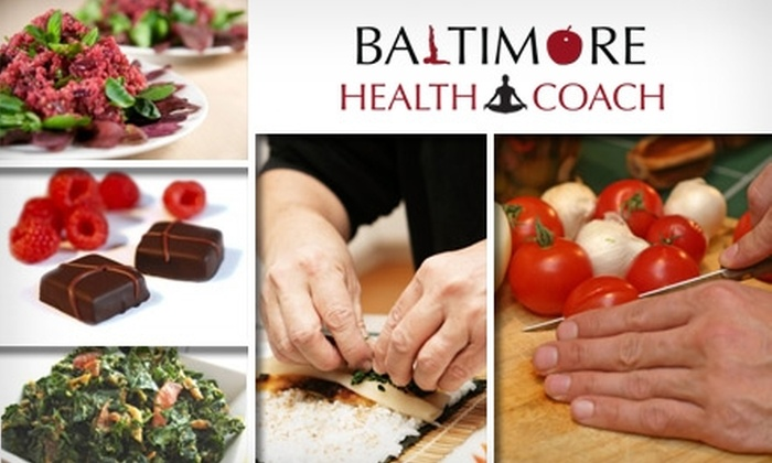 Baltimore Health Coach - Cold Springs: $25 for Any Two-Hour Cooking Class with Baltimore Health Coach ($50 Value)