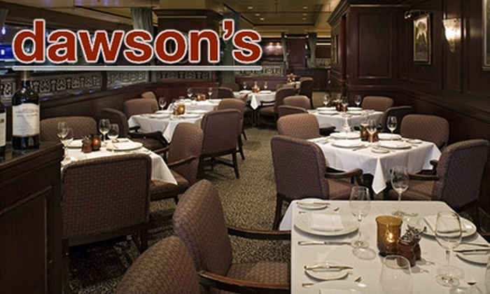 Dawson's - Downtown: $25 for $50 Worth of Upscale Fare at Dawson's in the Hyatt Regency Sacramento