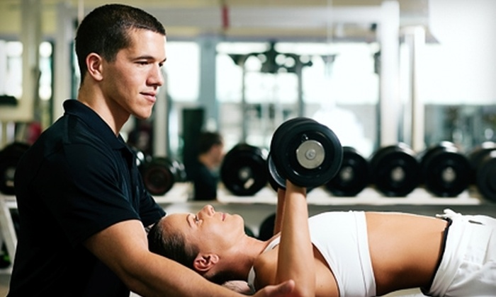 Eagle Fitness - Multiple Locations: $17 for One-Month Membership and One Personal Training Session at Eagle Fitness