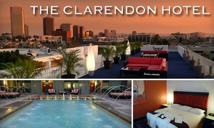 Clarendon Hotel - Encanto: $99 for a One-Bedroom Pool-View Suite at the Clarendon Hotel