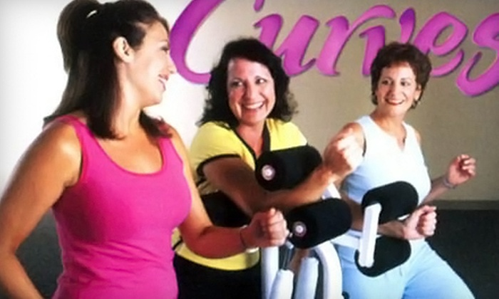 Curves - Multiple Locations: $15 for a One-Month Membership Including Enrollment Fee to Curves ($142 Value). 14 Locations Available.