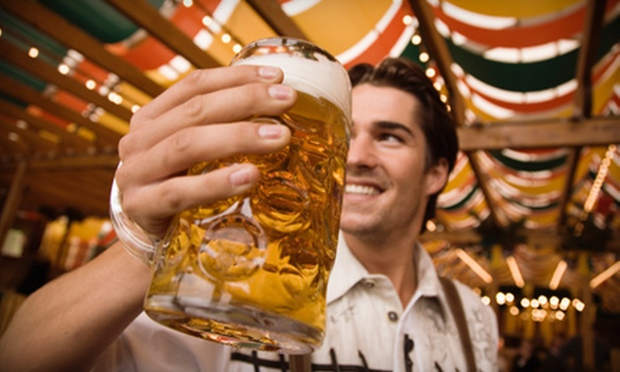 Swine and Stein Festival - Gardiner: $15 for Two Admissions and Included Drink Tickets to the Swine and Stein Festival on Gardiner Main Street on October 1 ($30 Value)