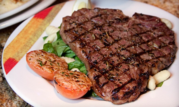 Adriatic Grill - South Tacoma: $20 for $40 Worth of Italian Dinner Cuisine and Wine at Adriatic Grill in Tacoma